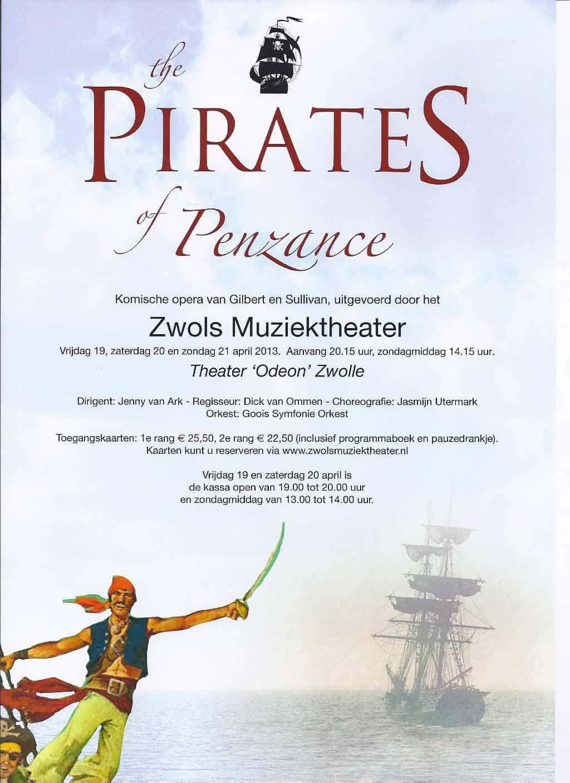 The Pirates Of Penzance (2013)