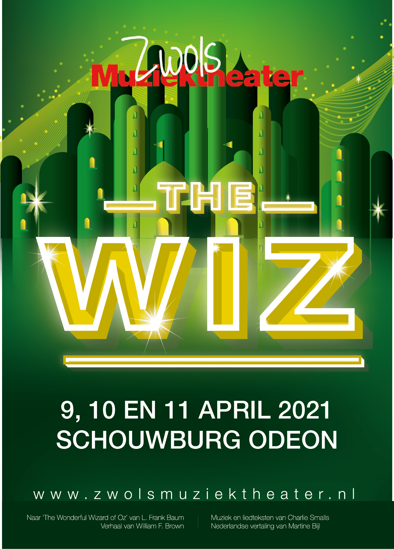 Poster The Wiz 2021 A6-01